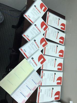 Message books for Sale in Fresno, CA