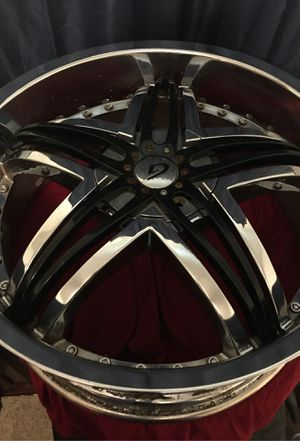 Gianna blitz 22 inch rims for Sale in Fayetteville, AR
