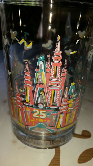 Disney 25th Anniversary McDonald's glass for Sale in Queens, NY