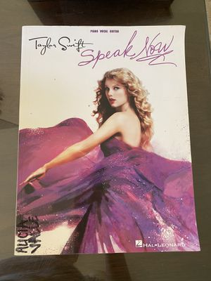 Taylor Swift Piano Book for Sale in Claremont, CA