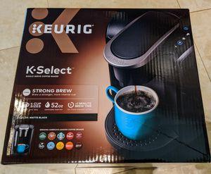 New Keurig K-cup Coffee Maker includes K-cup samples Black/Silver for Sale in Pembroke Pines, FL