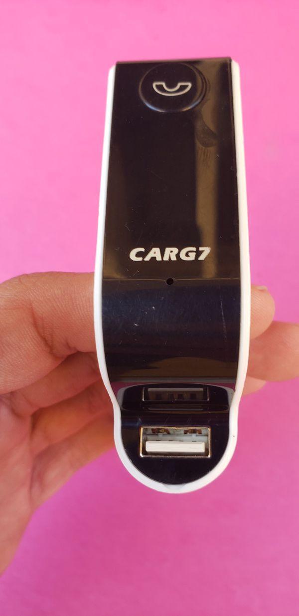 Bluetooth FM Transmitter for car radio