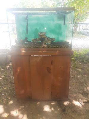 35 gallon fish and for Sale in Fort Worth, TX