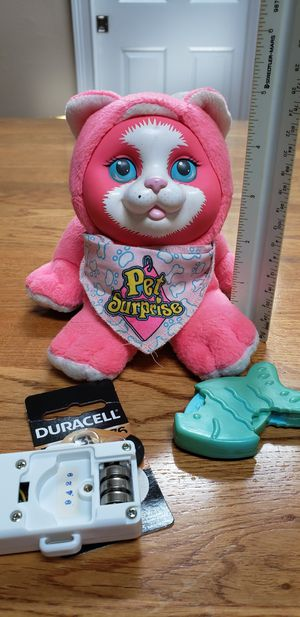 1993 Hasbro Pet Surprise Meowing Kitten for Sale in Palm Bay, FL