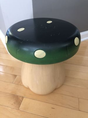 Nintendo's Super Mario Brothers kids mushroom stool / chair for Sale in HOFFMAN EST, IL