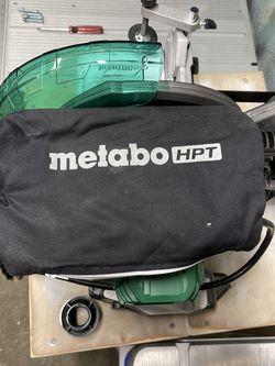 Metabo 10 Inch Single Bevel Miter Saw for Sale in Saddle Brook,  NJ
