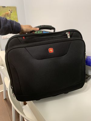 Swiss gear rolling laptop bag for Sale in Miami, FL