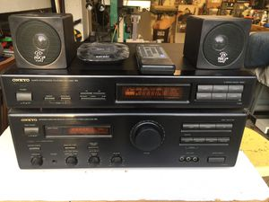 ONKYO Stereo Amplifier (A-RV401) and ONKYO FM Stereo/AM Tuner(T-403). for Sale in Alexandria, VA
