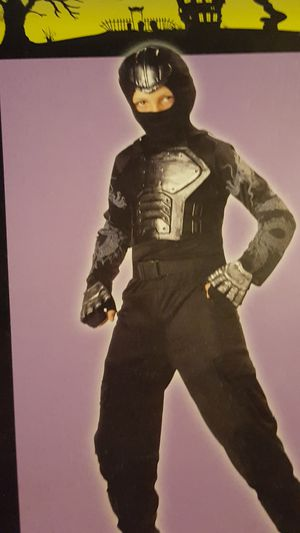 Iron Fist ninja kids Halloween costume size medium for Sale in Perryopolis, PA