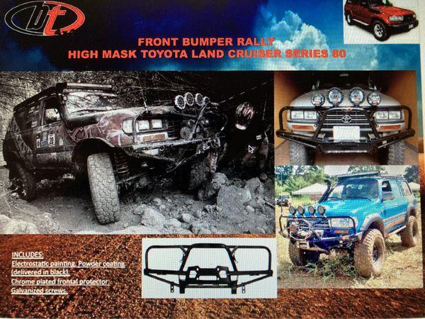 Toyota LC80 off road winch bumper