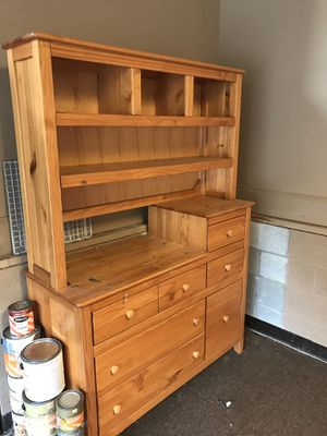 Solid oak-Crib4Life-crib/toddler bed/full bed- night stand-dresser/changing table for Sale in Cottontown, TN