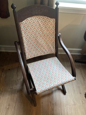 Antique sitting chair for Sale in Ganado, TX