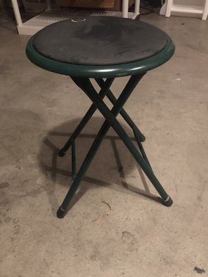 Green stool for Sale in Las Vegas, NV