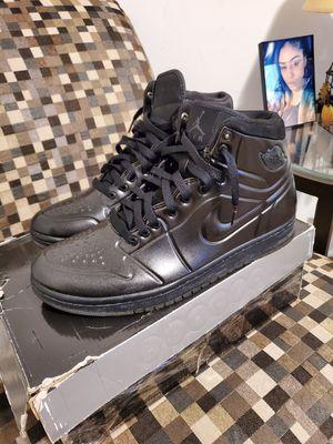 RARE black anodized (foamposite) Jordan 1 size 9.5 for Sale in Gastonia, NC