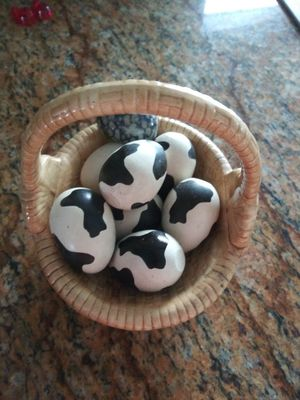 Porcelain basket with eggs for Sale in Miramar, FL