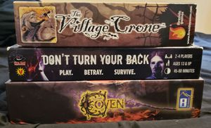3 Horror Board Games for Halloween for Sale in New Port Richey, FL