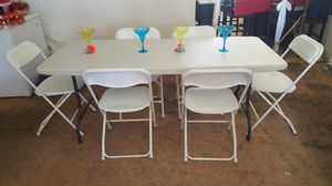 1=table 6= chairs $$75 for Sale in El Cajon, CA