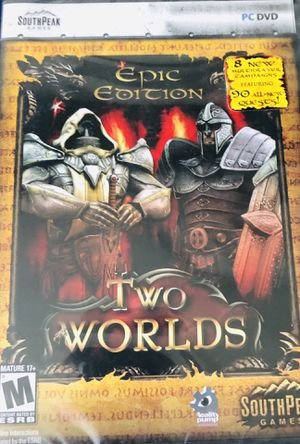 Two Worlds Epic Edition PC DVD NEW for Sale in New Haven, CT