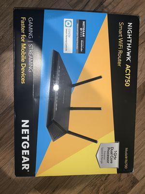 Smart wifi Router - nighthawk AC1750 for Sale in Houston, TX