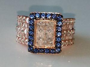 Sapphire diamond ring for Sale in Mifflinburg, PA