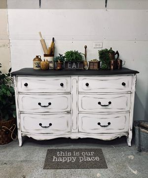 Farmhouse Chic Chest of Drawers / Buffet / Entertainment Center for Sale in Joliet, IL