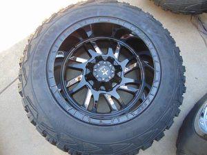 20X12 RBP SWAT Black Rims & LT 35 12.50 20 Kumho M/T Tires FORD*8X170* for Sale in Aurora, CO