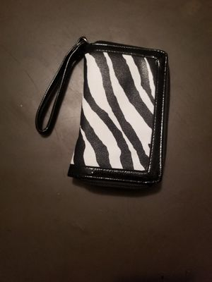 Zebra print wallet for Sale in Farmville, VA