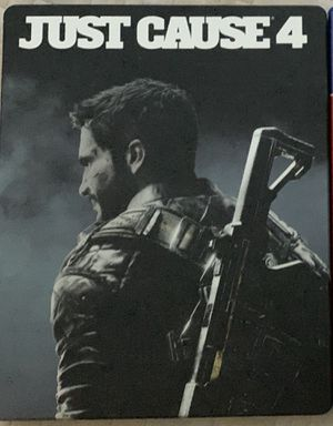 Just cause 4 steelbook edition ps4 for Sale in San Diego, CA