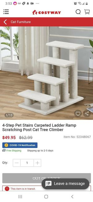 New 4 Step Pet Stairs for Sale in Compton, CA