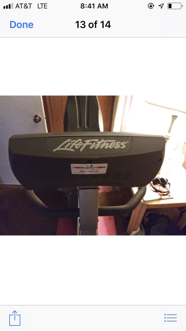 Life fitness re. Gifted by Arnold Schwarzenegger donated