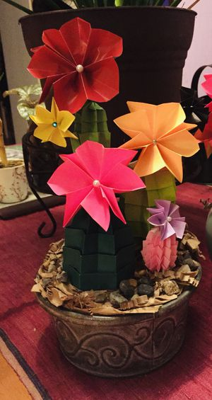 Origami cactuses! for Sale in Portland, OR
