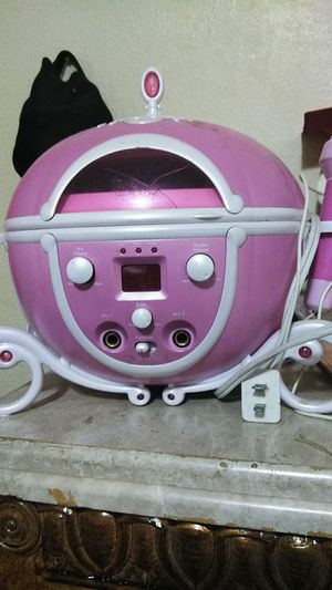 Princess Cd player with microphone for Sale in Laredo, TX