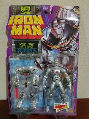 Ironman Artic Armor Marvel Comics ToyBiz RARE VINTAGE COLLECTABLE Action Figure for Sale in Thonotosassa, FL