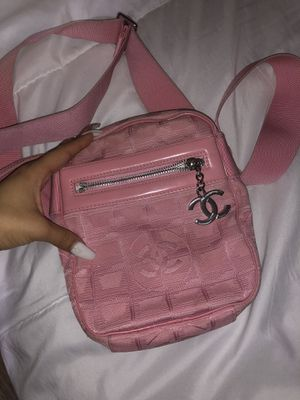 pink chanel cc sport crossbody bag for Sale in Houston, TX