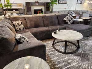 Sectional Sofa (Ottoman/Coffee Table is not included), Smoke for Sale in Garden Grove, CA