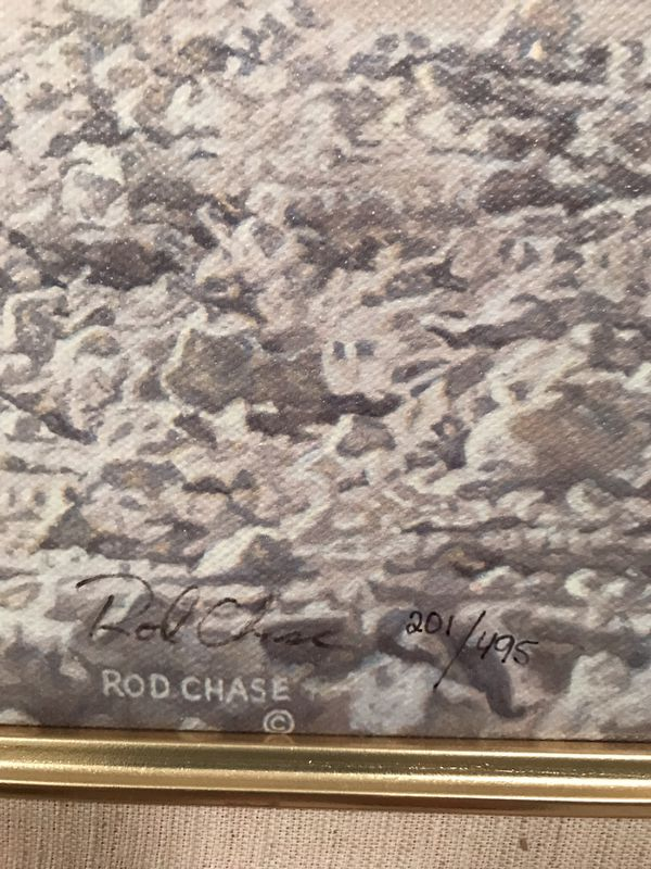 ROD CHASE - JUSTICE FOR ALL - LIMITED EDITIONS 201 from 495