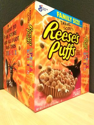 Travis Scott Reese's Puffs Special Edition Cactus Jack Family Pack for Sale in Houston, TX