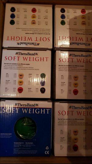 "TheraBand weights 25801 Soft Weight, 4.5"" Diameter Hand Held Ball Set - $60 for Sale in Phoenix, AZ"