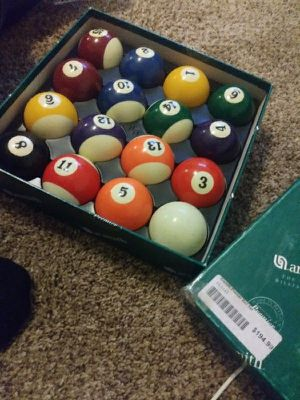 Set Pool Table Balls for Sale in Lodi, CA