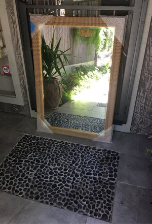 28x41 mirror with gilded frame. for Sale in Whiteriver, AZ
