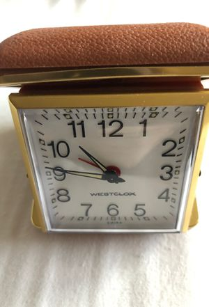 Westclox Folding Travel Alarm Clock for Sale in Denver, CO