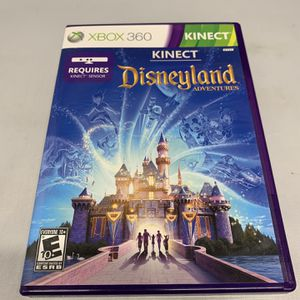 Kinect Disneyland For Xbox 360 Complete CIB Video Game for Sale in Wormleysburg, PA