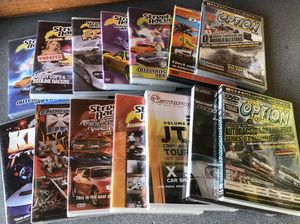 Car Street Racing and Drifting DVD's $2.00 for Sale in Buena Park, CA