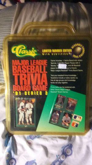 Baseball trivia board game for Sale in Converse, TX