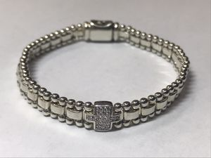 Lagos 925 and Diamond bracelet for Sale in Little Rock, AR