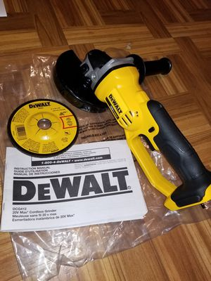 "Dewalt 4 1/2"" Cut-off Grinder 20V for Sale in Norwalk, CA"