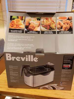 Breville Deep Fryer. NEW in box for Sale in Middletown, NJ