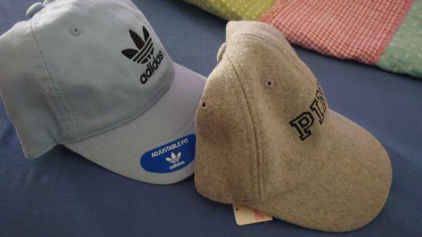 Adidas & pink hats