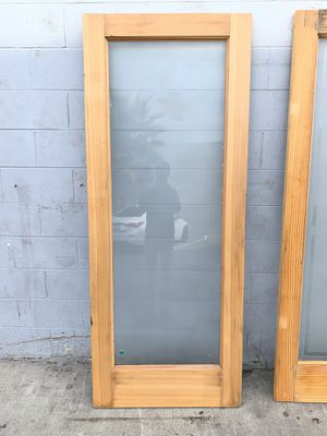 80' x 32' Door with Glass for Sale in Santa Ana, CA