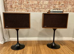 Vintage mid century 901 Bose speakers with stand and equalizer for Sale in Phoenix, AZ